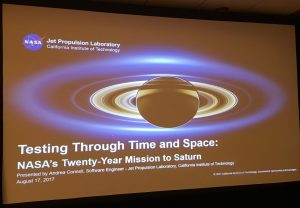 color photo of Cassini mission talk